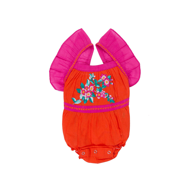 Coco & Ginger Camille Sunsuit - Paprika
