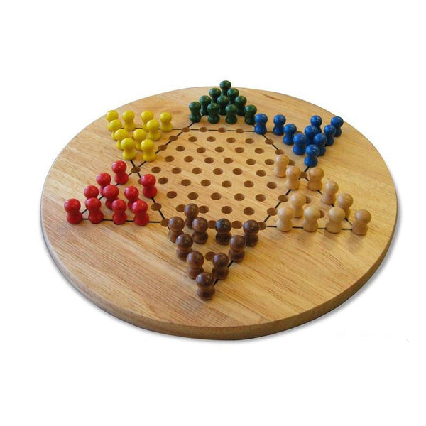 Traditional Wooden Chinese Checkers