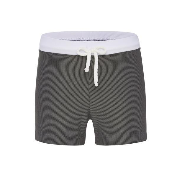 Alfie and Nina Boys Euro Shorts in Grey