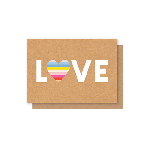 Elly Oak Card - Love