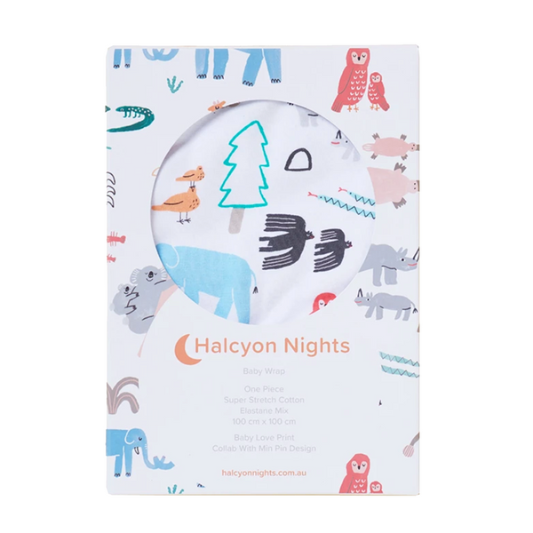 Halcyon Nights Baby Wrap - Baby Love