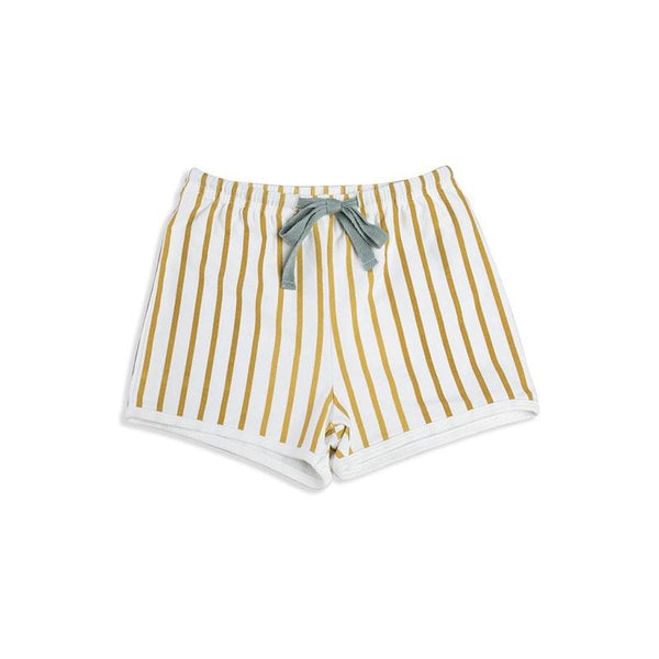Mad About Mini Stripe Short Mustard