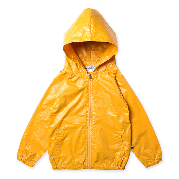 Minti High Shine Anorak - Mustard