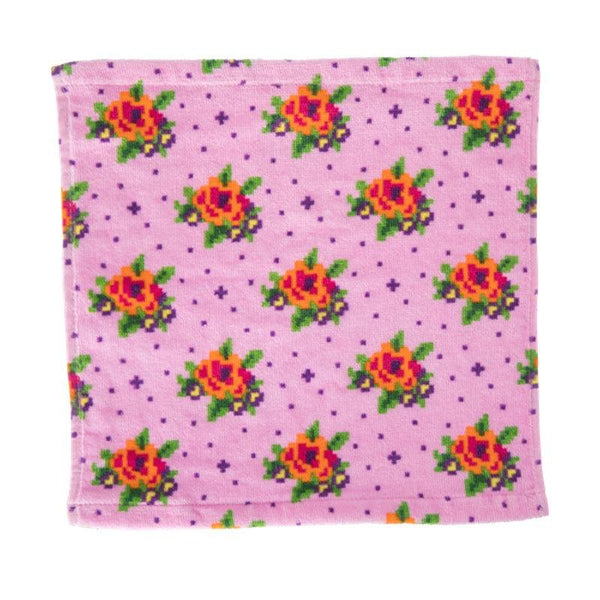 Floral Washcloth