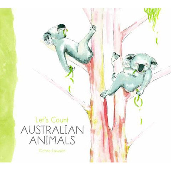 Lets Count Australian Animals by Ochre Lawson