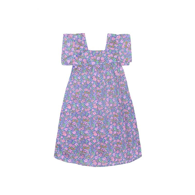 Coco & Ginger Allegra Dress - Morning Indian Flowers