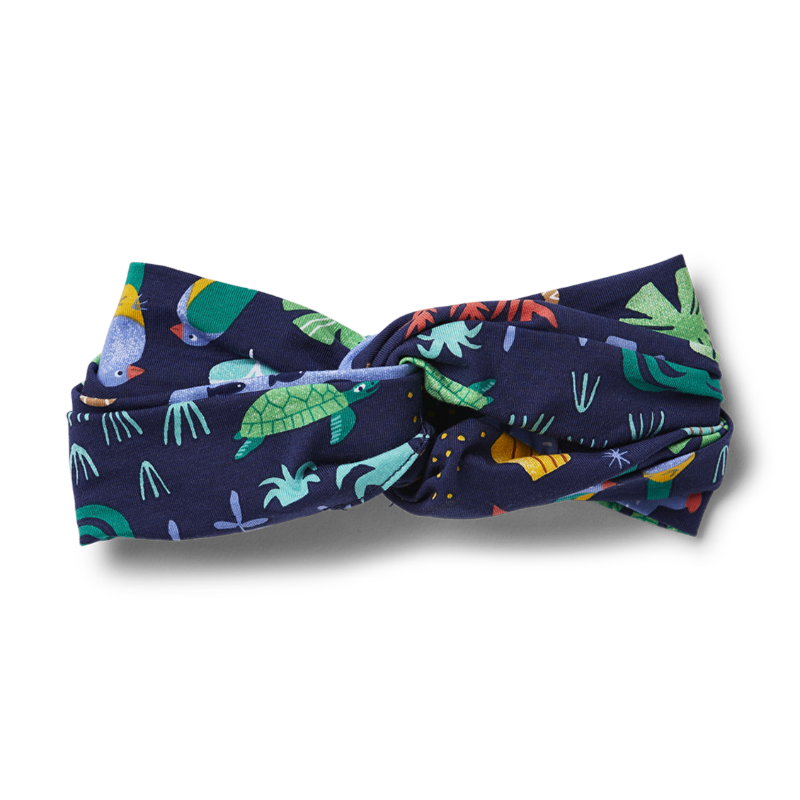 Halcyon Nights Headband - Beach Forest