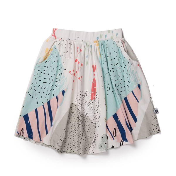 Littlehorn Arizona Skirt White
