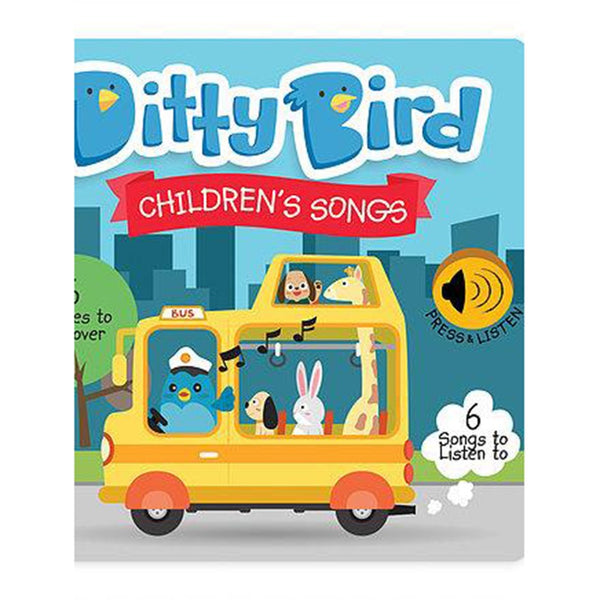 Ditty Bird Children's Songs Book