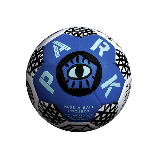 Park Soccer Ball - Size 3 Ultra Blue