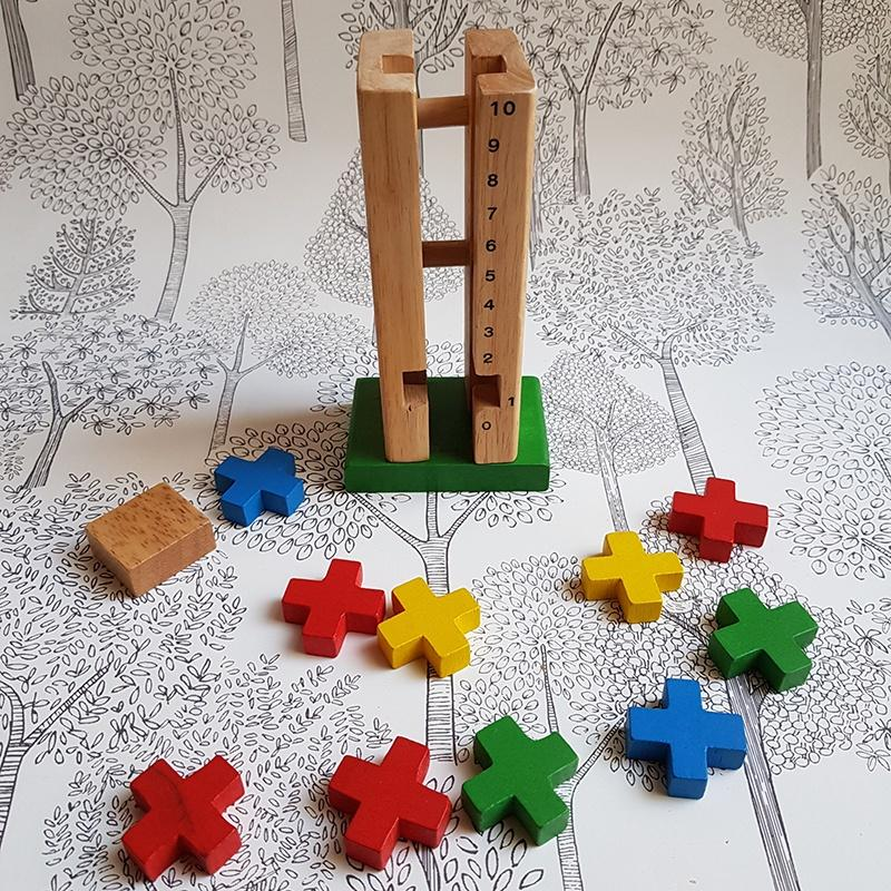 Wooden Counting tower