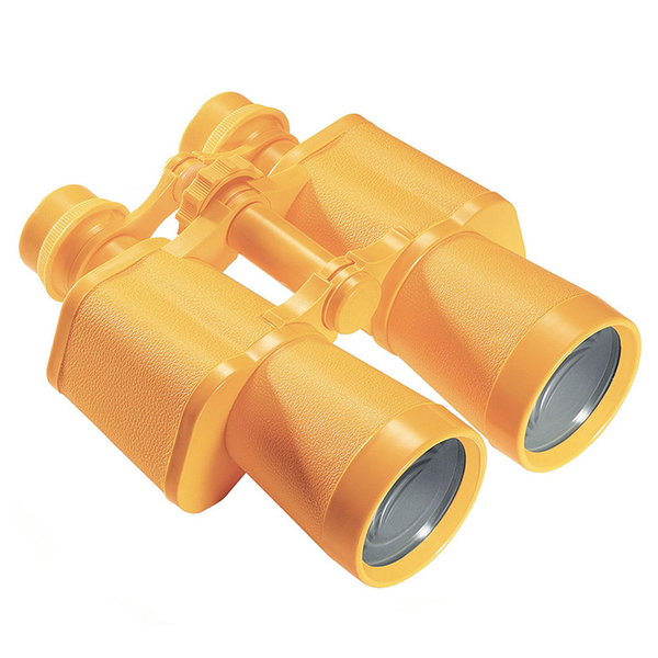 Yellow Binoculars With Case