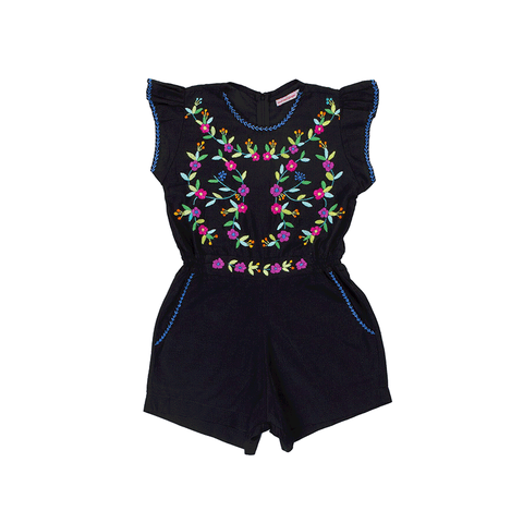 Coco & Ginger Magnolia Playsuit - Black