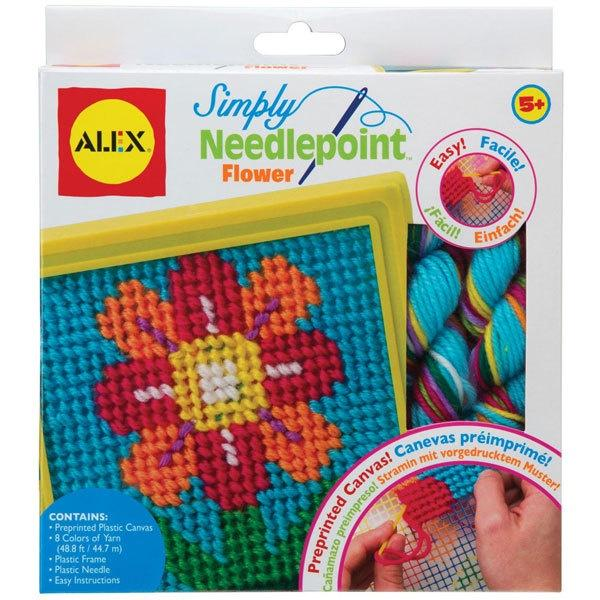 Simply Needlepoint - Flower Blossom