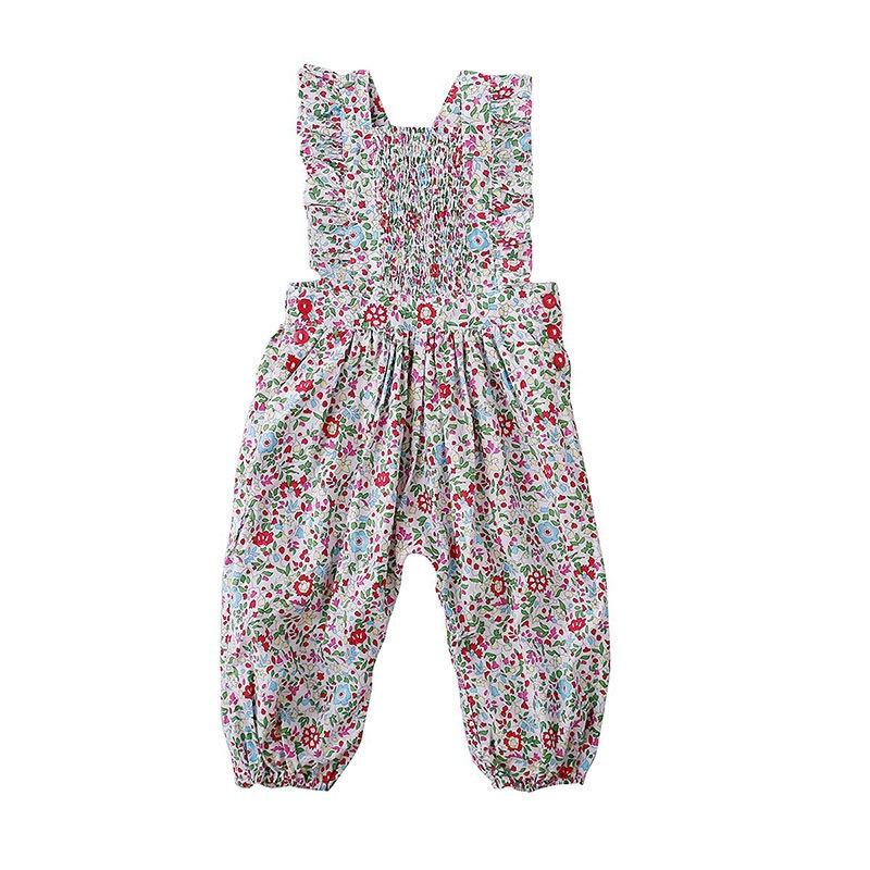 Peggy Mia Jumpsuit - Spring Floral at Shorties