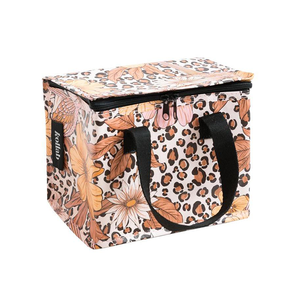 Kollab Poly Lunch Box - Leopard Floral