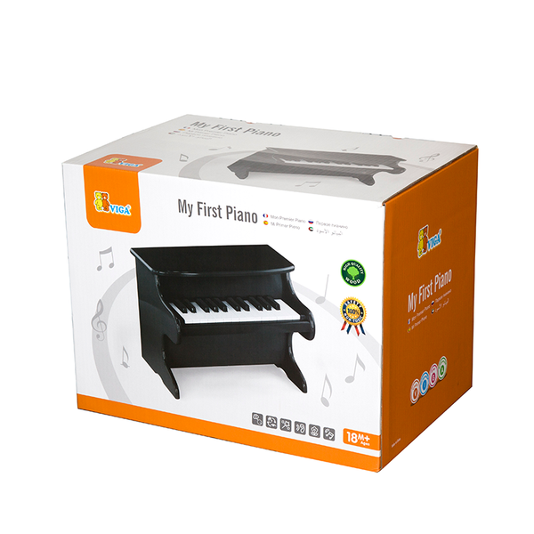 Viga My First Piano - Black