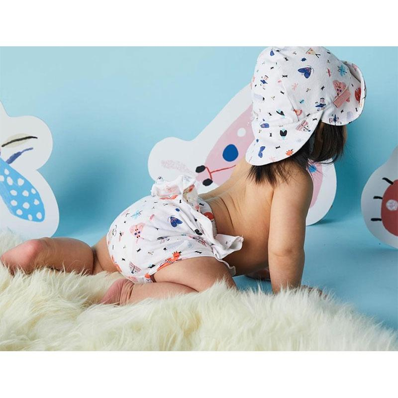 Halcyon Nights Thrills Frills Suit - Love Bugs