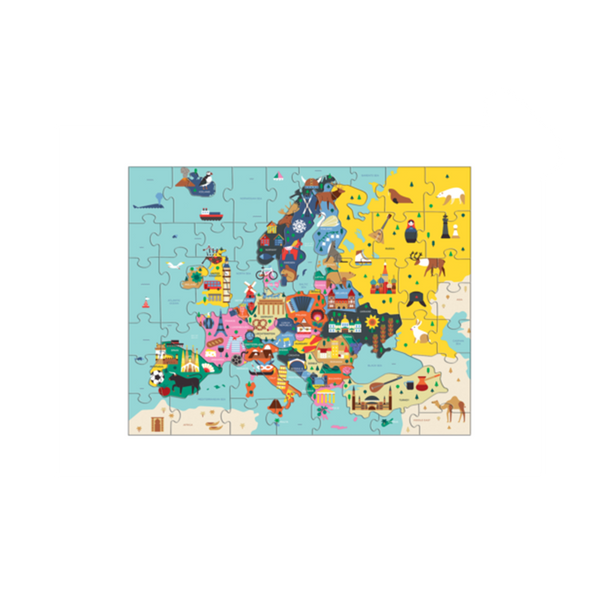 Mudpuppy Geography Puzzle - Europe