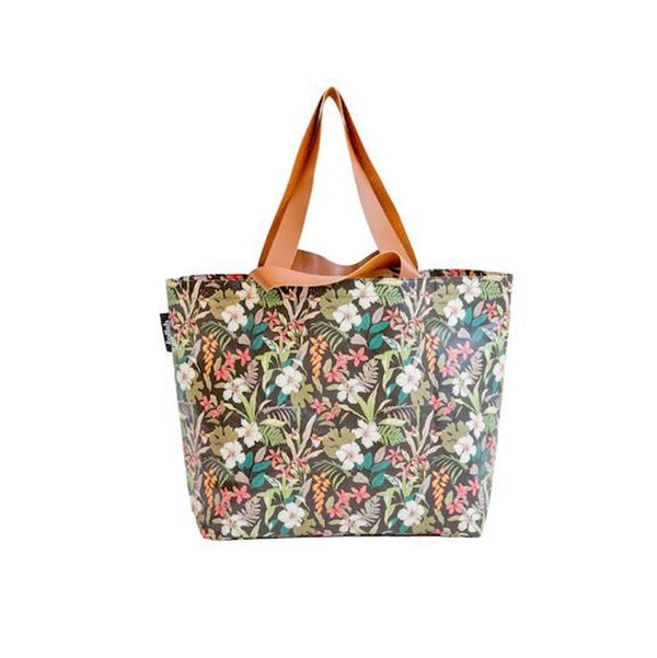 Kollab Poly Shopper Tote - Hibiscus