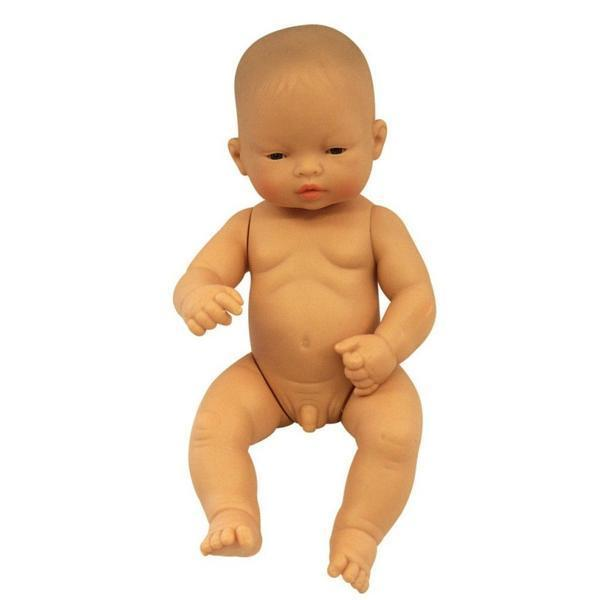 Miniland Anatomically Correct Doll - Small Asian Boy
