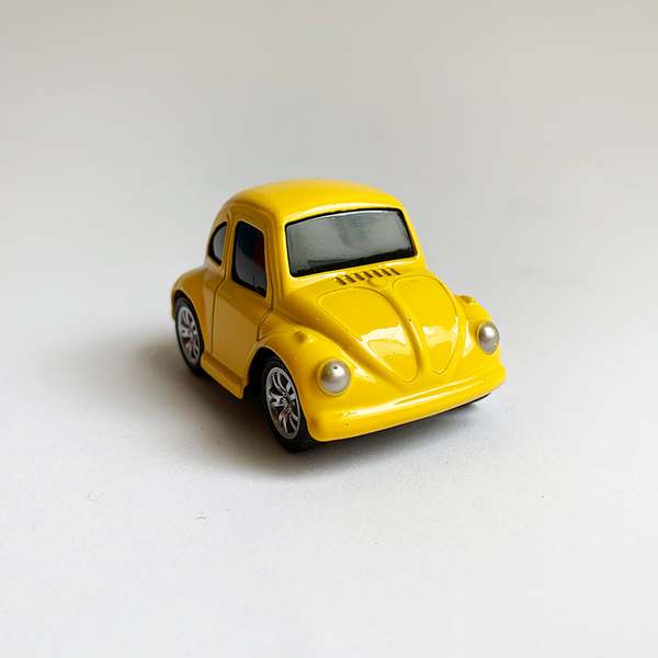 Die Cast Car - Yellow Beetle