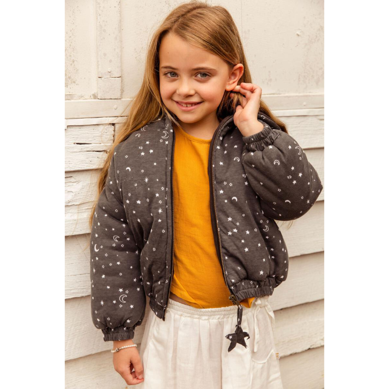 Alex & Ant Blisse Bomber Jacket - Starry Night