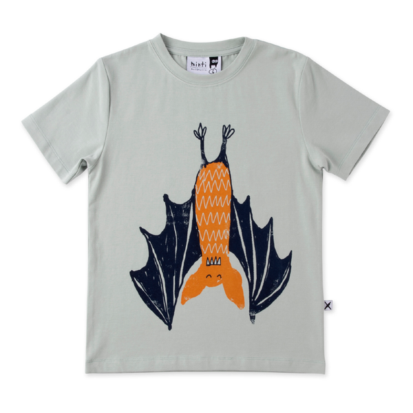Minti Chilled Bat Tee - Muted Green