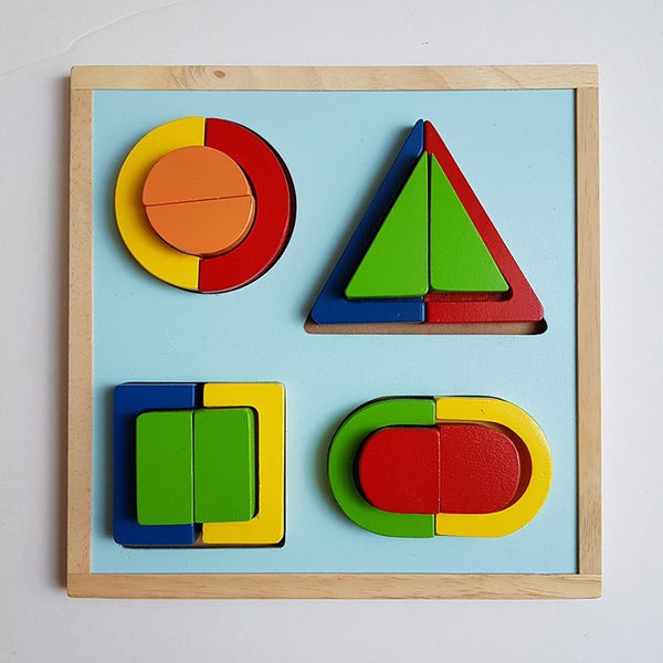 Shorties Kids Wooden Toys Sorting Board Montessori Steiner childrens blocks