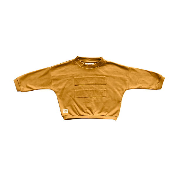 We Roam GPS Panel Jumper - Mustard