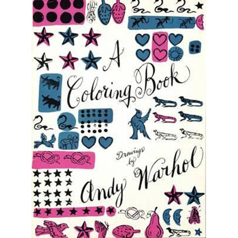 Colouring Book: Drawings By Andy Warhol P/B