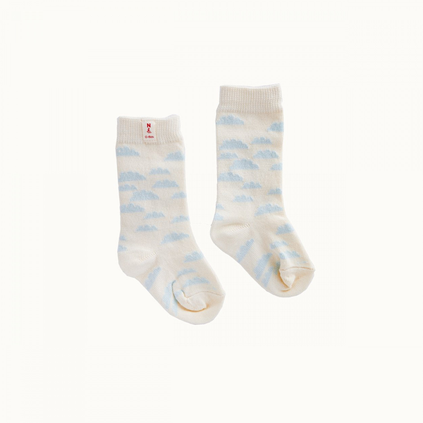 Nature Baby Cotton Socks - Clouds