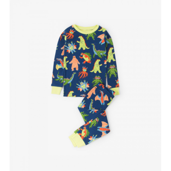 Hatley Pajama Set - Mega Monsters