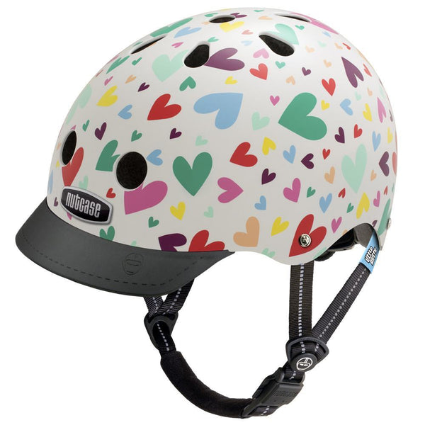 Nutcase Little Nutty XS Helmet - Happy Hearts