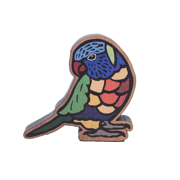 Buttonworks Rainbow Lorikeet Figurine