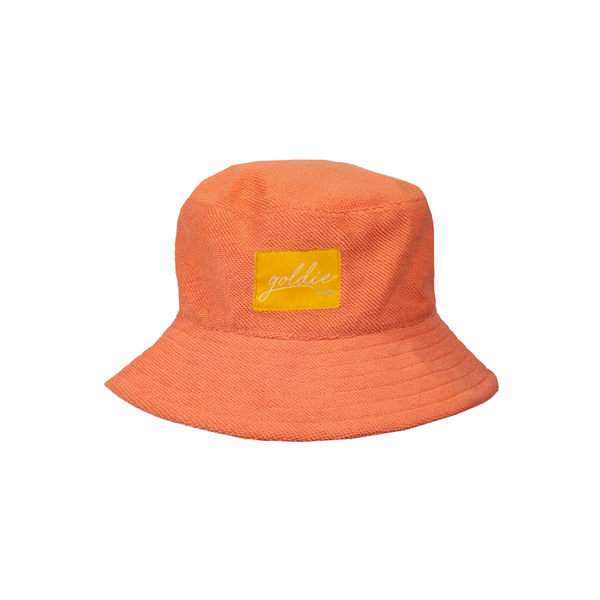 Goldie & Ace Terry Towelling Hat - Flamingo