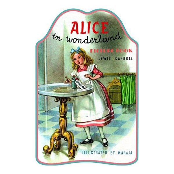Shape Board Book - Alice In Wonderland