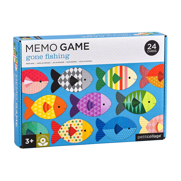 Petit Collage Memory Game - Gone Fishing