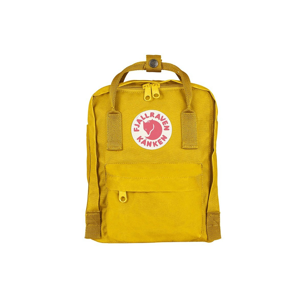 Kanken Backpack - Mini Warm Yellow