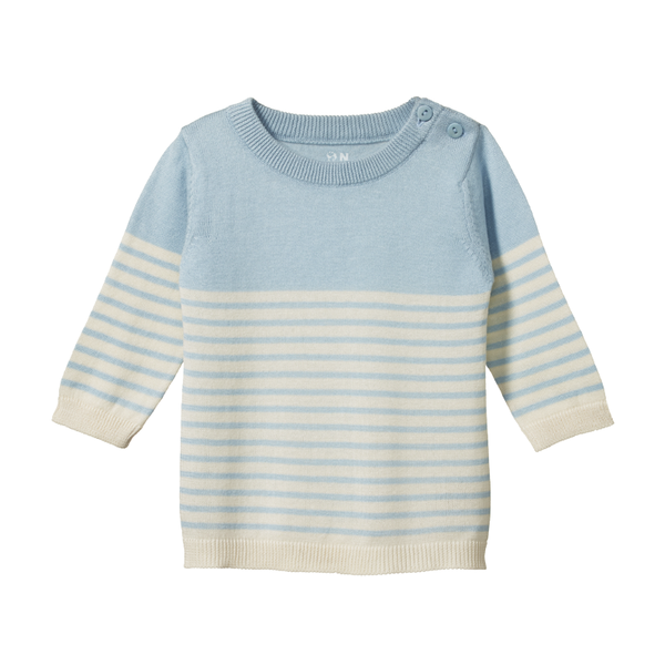 Nature Baby Light Knit Jumper - Pond Sailor Stripe