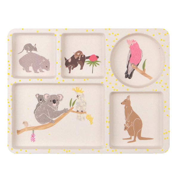 Love Mae Bamboo Dinner Set - Australiana