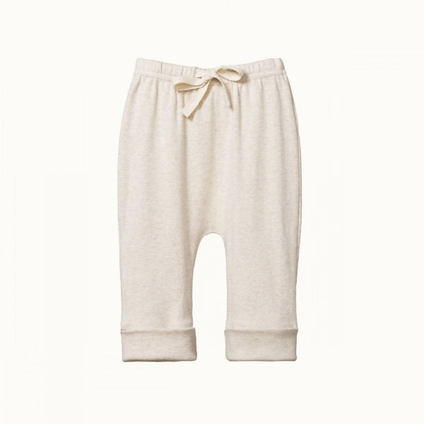 Nature Baby Drawstring Pants - Oatmeal