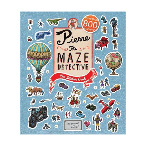 Pierre The Maze Detective - Sticker book