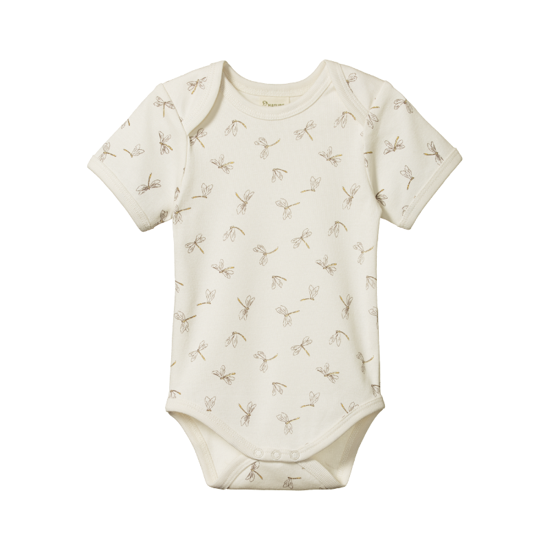 Nature Baby S/S Bodysuit - Dragonfly