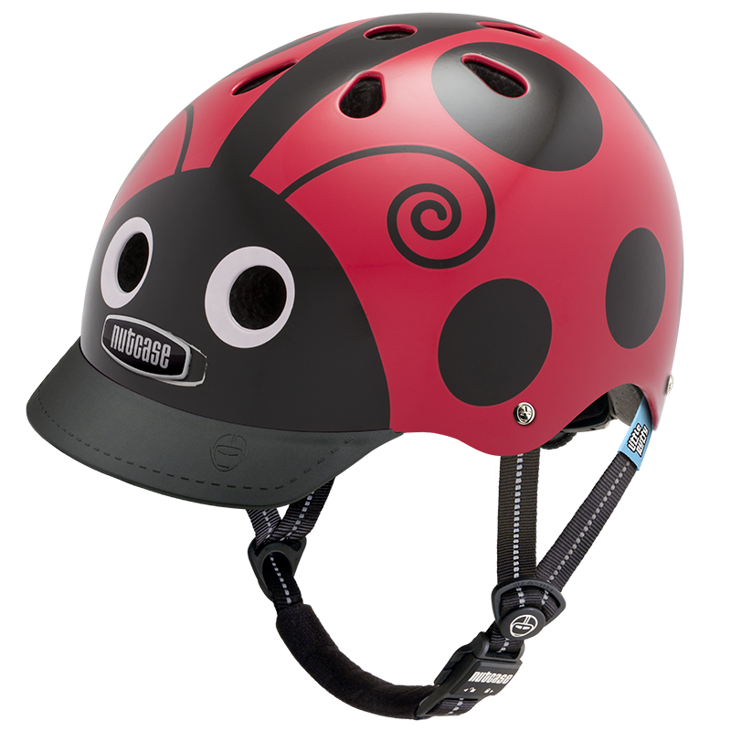 Nutcase Helmet - Little Nutty Ladybug