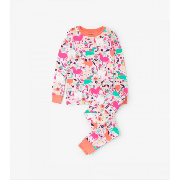 Hatley Pajama Set - Roaming Horses