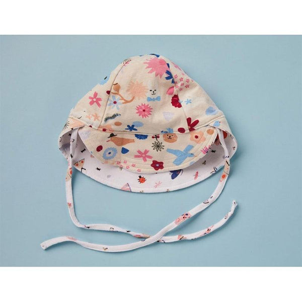 Halcyon Nights Reversible Sun Hat - Florida