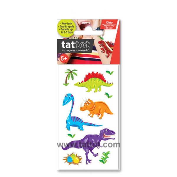 Tattot Temporary Tattoos dinosaur