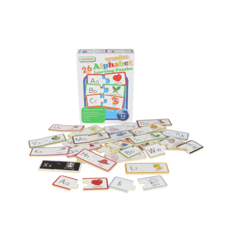 Masterkidz Wooden Learning Puzzles - Alphabet