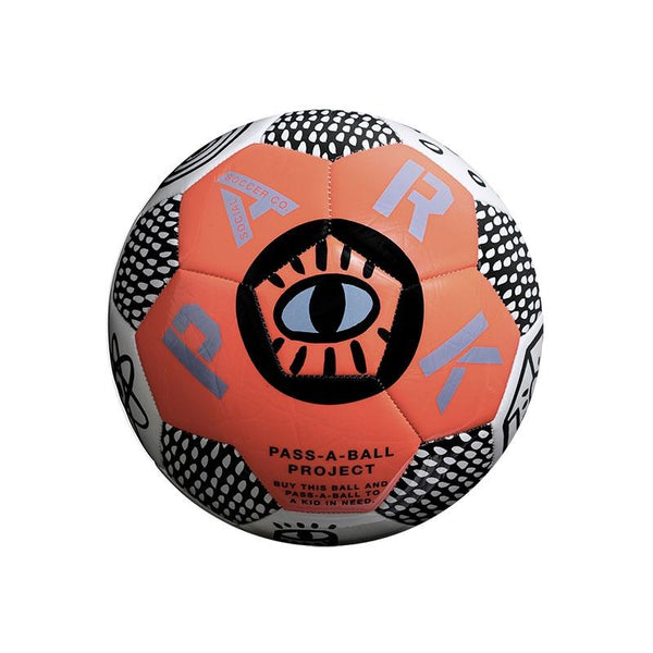Park Soccer Ball - Size 4 Neon Orange